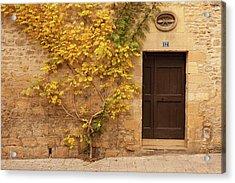 Doorway, Sarlat, France Acrylic Print