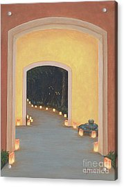 Doorway To The Festival Of Lights Acrylic Print