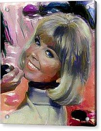 Doris Day Acrylic Print
