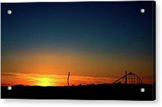 Dorney Park Sunset Acrylic Print