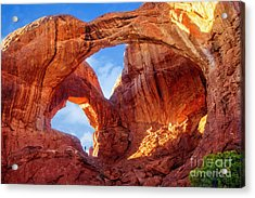 Acrylic Print featuring the photograph Double Arch by Scott Kemper