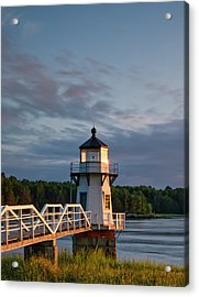 Doubling Point Light Acrylic Print
