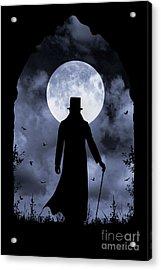 Dracula Returns Acrylic Print