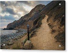 Dramatic Tovemore Trail Acrylic Print