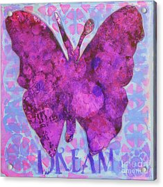 Dream Butterfly Acrylic Print