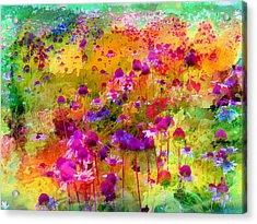 Dream Of Flowers Acrylic Print