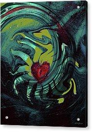 Dreaming Heart Acrylic Print