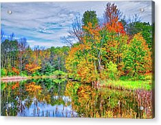 Acrylic Print featuring the photograph Dreams Of Fall In The Finger Lakes by Lynn Bauer