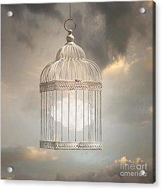 Dreamy Image That Represent A Cloud Acrylic Print