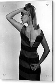 Dress Zip Acrylic Print