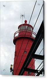 Dressed In Red Acrylic Print