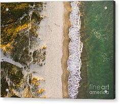 Drone Shot. Aerial Photography. East Acrylic Print