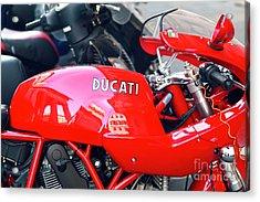 Ducati In Rome Acrylic Print