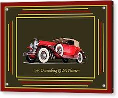 Duesenberg 1935 Acrylic Print