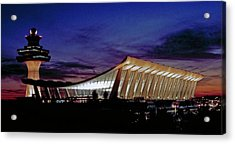 Dulles International Acrylic Print