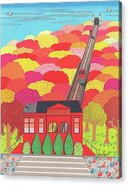 Duquesne Incline Acrylic Print