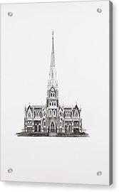 Dutch Reformed Church Graaff-reinet Acrylic Print