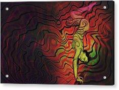 Dynamic Color Acrylic Print