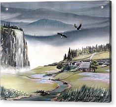 Eagle View Acrylic Print