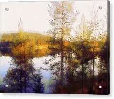 Early Autumn In Finland Acrylic Print