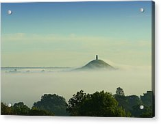 Early Morning Fog Rolling In Over Acrylic Print