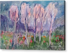 Early Morning In The Forest Acrylic Print