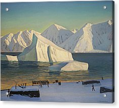 Early November North Greenland Acrylic Print by Rockwell Kent