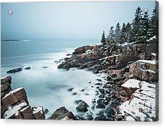 East Coast Winters Acrylic Print
