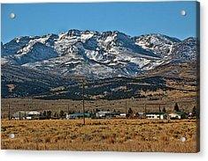 East Humboldt Range Nevada Acrylic Print