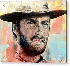 Eastwood Paint Edit Acrylic Print