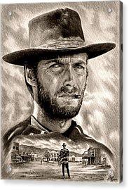 Eastwood Sepia Acrylic Print