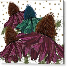 Echinacea Flower Skirts Acrylic Print