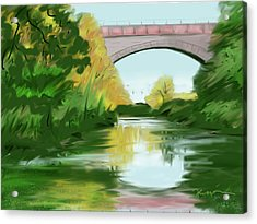 Echo Bridge Acrylic Print