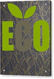 Eco Green Acrylic Print