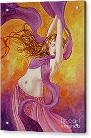 Ecstatic Dance Acrylic Print