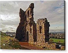 Edinburgh. St. Anthony's Chapel, Holyrood Park Acrylic Print