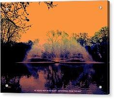 Edit This 14 - Mist Acrylic Print