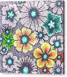 Efflorescent 11 Acrylic Print