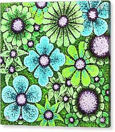 Efflorescent 9 Acrylic Print