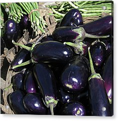 Eggplants   For Sale In In Chatikona  Acrylic Print