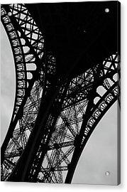Eiffel Tower, Base Acrylic Print