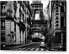 Eiffel Tower - Classic View Acrylic Print