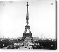 Eiffel Tower Acrylic Print by Hulton Archive