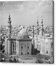 El Azhar Mosque Acrylic Print by Three Lions