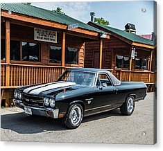 Acrylic Print featuring the photograph El Camino by Michael Sussman