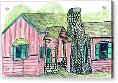 Spence Cabin In Elkmont Acrylic Print