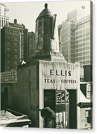 Ellis Tea And Coffee Store, 1945 Acrylic Print