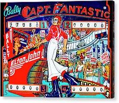 Elton John Pinball Wizard Acrylic Print