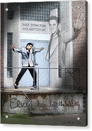 Elvis Has Left The Building Acrylic Print