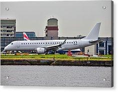 Embraer Erj-190ar Stobart Air Acrylic Print